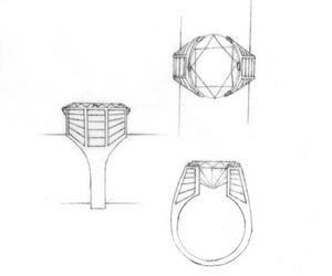 JD200 - Classical Jewellery Design 2: Technical drawing and Counter sketching