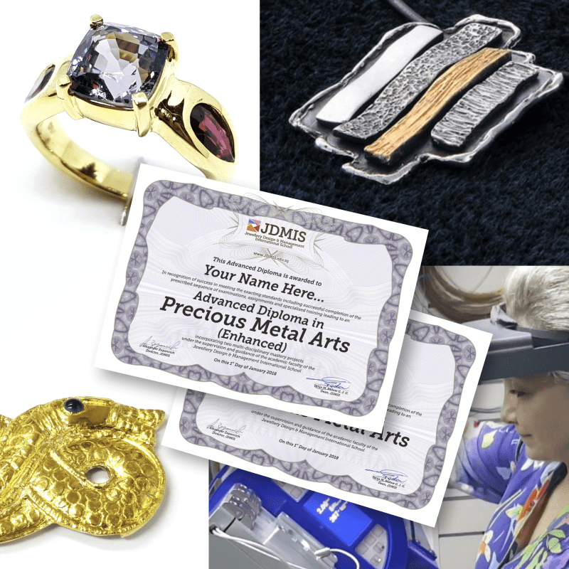 Precious Metal Arts Advanced Diploma