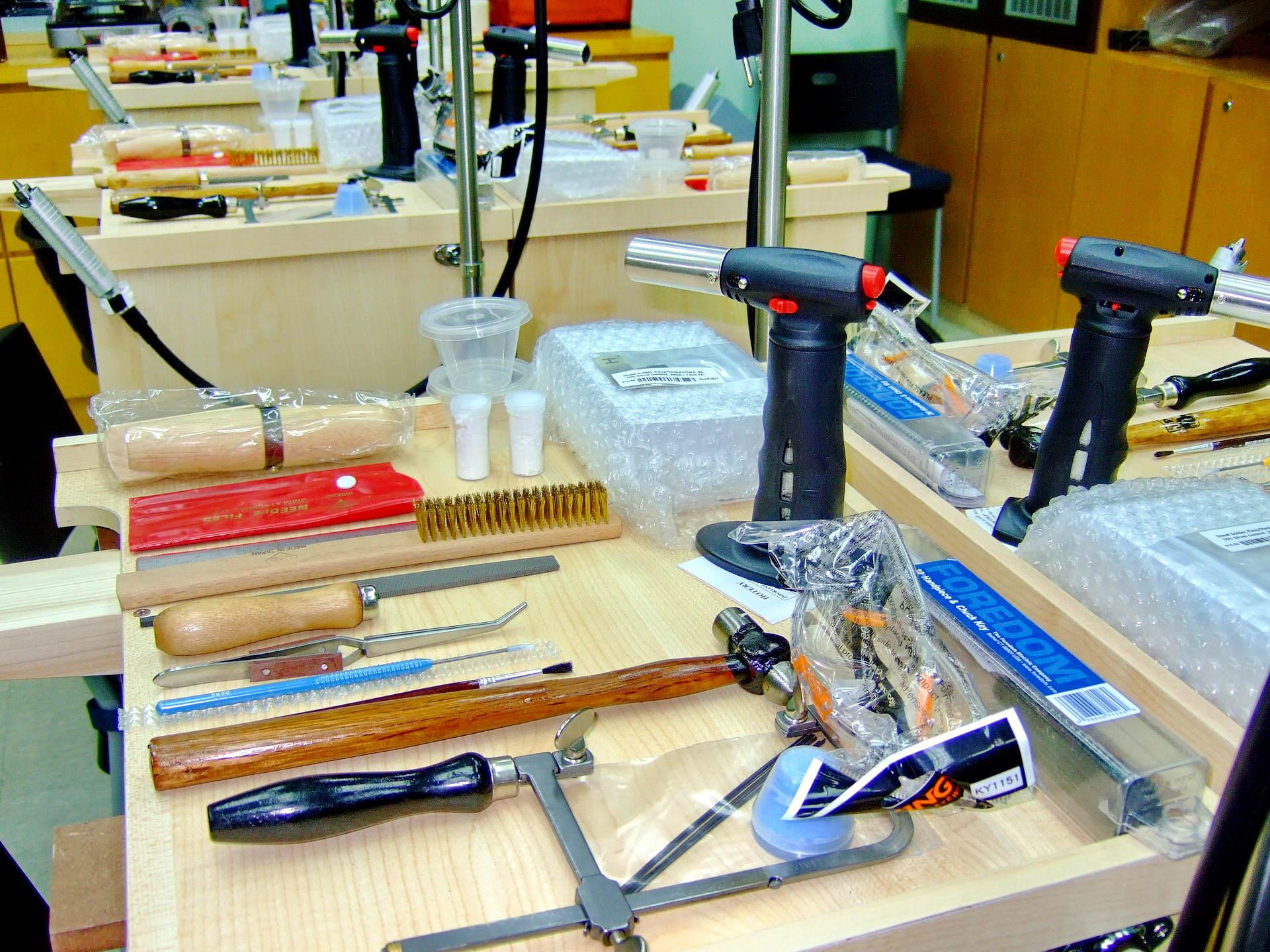 Metalsmithing Equipment